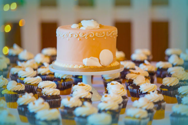 Мастичный торт