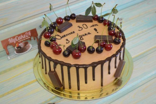Шоколадно-вишневый