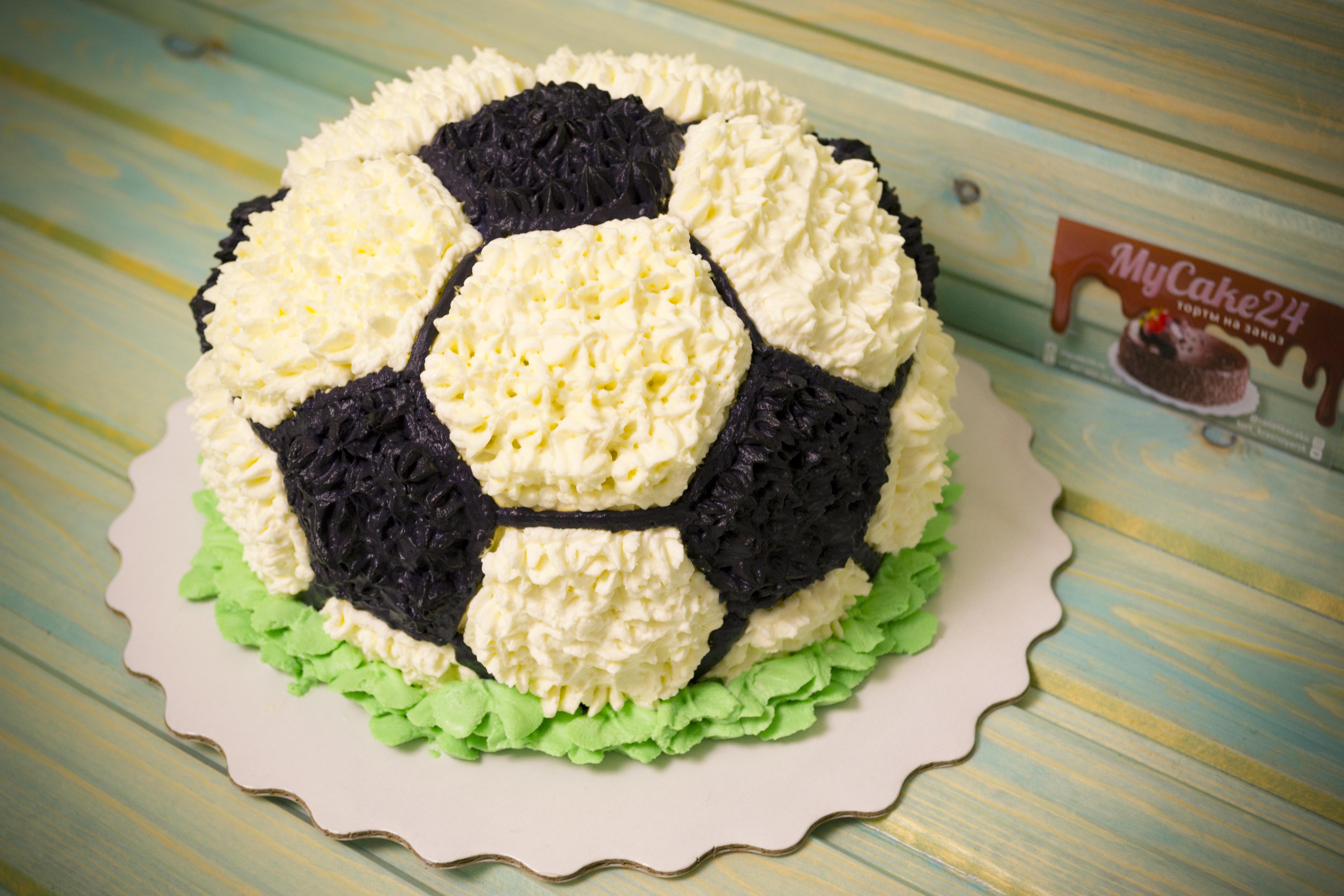его картинки про торт мяч года
